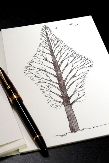 A Fountain Pen Tree