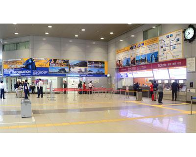 南海電鉄 関西国際空港駅サインボード