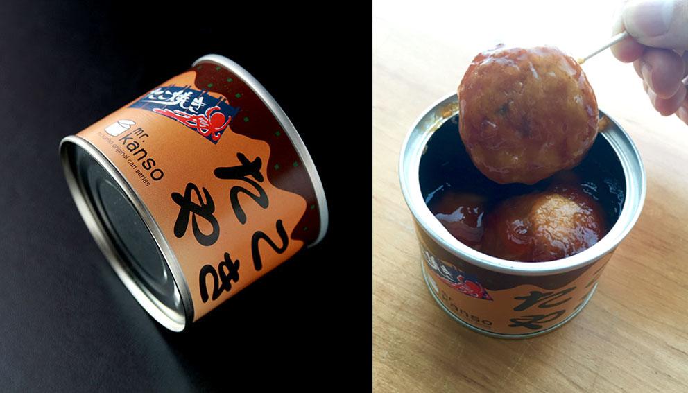 mr.kansoのたこ焼きの缶詰